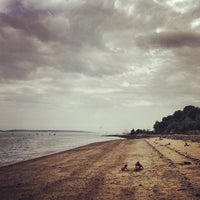Photo taken at East End Beach by Ryan C. on 9/1/2013
