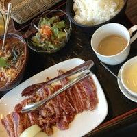 Photo taken at 安楽亭 沼南店 by Koichi S. W. on 10/11/2013