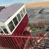 Photo taken at Folkestone Leas Lift by Jacques on 5/14/2016