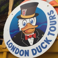 Photo taken at London Duck Tours by Jacques on 12/3/2015