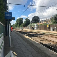 Photo taken at Avenue Road London Tramlink Stop by Jacques on 8/1/2017