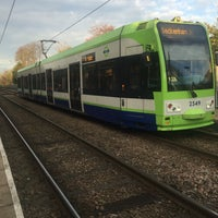 Photo taken at Avenue Road London Tramlink Stop by Jacques on 4/14/2016