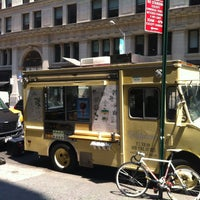Photo taken at Van Leeuwen Ice Cream Truck - 23rd by Scott K. on 5/30/2013