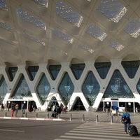 Photo taken at Marrakech Menara Airport (RAK) by Benoit P. on 1/6/2013