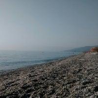 Photo taken at Velika Beach by A K. on 8/15/2014
