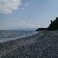 Photo taken at Velika Beach by A K. on 9/1/2013
