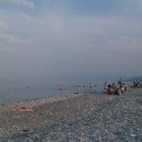 Photo taken at Velika Beach by A K. on 7/21/2013