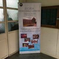 Photo taken at Escuela Pedro Pablo Lemaitre E-23 by María Pastora S. on 4/21/2018