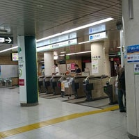 Photo taken at 岩本町駅 1-2番線ホーム by Toshi Y. on 7/10/2016
