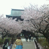 Photo taken at Kenchō-ji by Toshi Y. on 3/31/2013