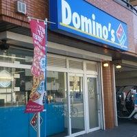 Photo taken at ドミノ・ピザ 環八通り萩中公園店 by Toshi Y. on 2/22/2014