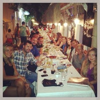 Photo taken at Karina Balık Restaurant by Arda Anar on 8/11/2013