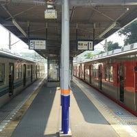 Photo taken at Tobu-Takezawa Station (TJ34) by こうちゃん on 8/2/2015