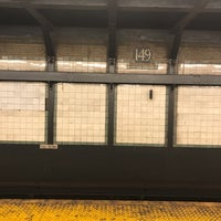 Photo taken at MTA Subway - 149th St/Grand Concourse (2/4/5) by Britt S. on 9/1/2017