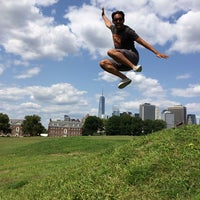 Photo taken at Governors Island by Dan G. on 7/30/2014