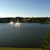 Photo taken at Lake outside of Publix by Maurice W. on 10/31/2012