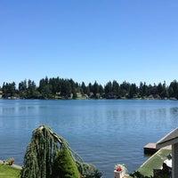 Photo taken at Steilacoom Lake by Christina L. on 7/14/2013