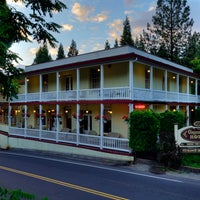 Photo taken at Groveland Hotel at Yosemite National Park by Peggy M. on 5/4/2015