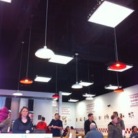 Photo taken at Five Guys by Mary A. on 3/16/2014