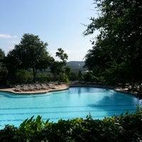 Photo taken at Barton Creek Resort & Spa by Joseph K. on 6/19/2013