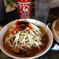 Photo taken at Pho World by Ian H. on 8/18/2013