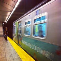 Photo taken at Yaletown - Roundhouse SkyTrain Station by Sharon W. on 9/12/2013