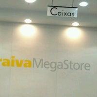 Photo taken at Saraiva Megastore by João P. on 12/27/2012