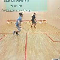 Photo taken at Squash Bratislavská by Robin on 4/3/2018