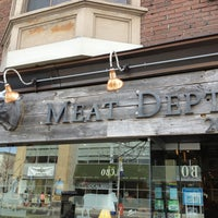 Photo taken at The Meat Department by Ian D. on 3/24/2013
