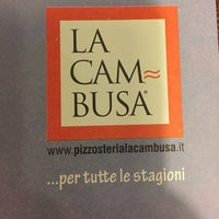 Photo taken at Pizzosteria La Cambusa by Dani R. on 1/16/2015