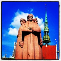 Photo taken at Strēlnieku laukums by Dmitry K. on 6/23/2013