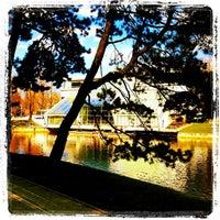 Photo taken at Kronvalda parks by Dmitry K. on 5/14/2013