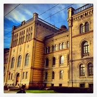 Photo taken at University of Latvia by Dmitry K. on 5/19/2013