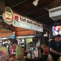 Photo taken at Half Shell Raw Bar by Mike M. on 3/14/2013