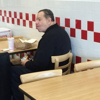 Photo taken at Five Guys by Jeavonna C. on 2/12/2016