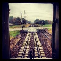 Photo taken at Amtrak Northbound by Stewart S. on 10/3/2012