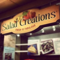 Photo taken at Salad Creations by Marcelo P. on 12/31/2012