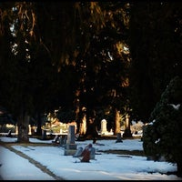 Photo taken at Provo City Cemetery by Heather C. on 11/15/2012
