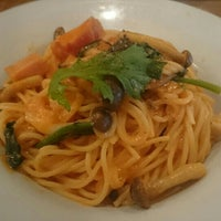 Photo taken at pasta & pizza BIANCO by 玉響 on 5/19/2016