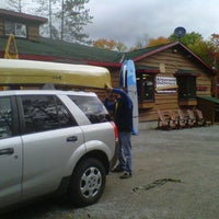 Photo taken at Algonquin Outfitters by Matt S. on 9/25/2012