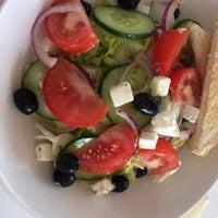 Photo taken at Portowa 28 Cafe by Kinga K. on 7/25/2015