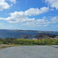Photo taken at Utsiktsplatsen Lysekil by Kjell T. on 8/9/2013