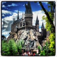 Photo taken at Harry Potter and the Forbidden Journey / Hogwarts Castle by Jeffrey H. on 9/17/2013
