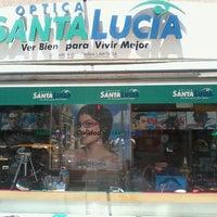 Photo taken at Óptica Santa Lucia by Javier C. on 2/15/2013