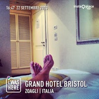 Photo taken at Grand Hotel Bristol by Alessandro B. on 9/22/2013