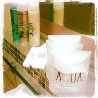 Photo taken at Aqua Hotel Rimini by Letizia G. on 2/23/2013