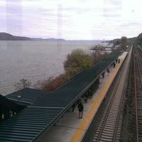 Photo taken at Metro North - Greystone Train Station by Antonia O. on 11/5/2012