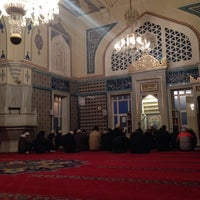 Photo taken at Bahcesehir Camii by Ergün A. on 1/27/2015
