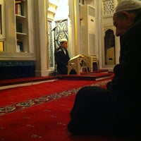 Photo taken at Bahcesehir Camii by Ergün A. on 1/5/2013