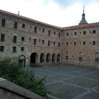 Photo taken at Monasterio De Yuso by Daniel R. on 12/1/2012